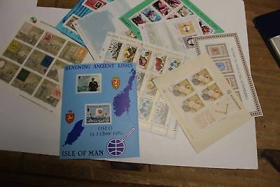 01615/ Block / KLB Lot ** MNH aus Europa
