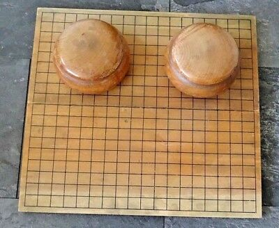 Altes  Chinese Board Game  GO   Brettspiel