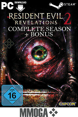 Resident Evil Revelations 2 - Complete Season + Bonus - Steam PC [DE/EU] Uncut