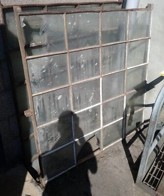 Reclaimed Antique Cast Industrial Window frame