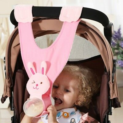 Hand Free Baby Milk Bottle Holder Sling Infant Feeding Stroller Car Seat