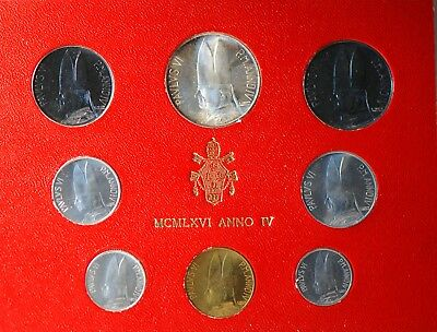 Vatican City, 1966 (8 Coin) Mint Set, Reserve,                             mab18