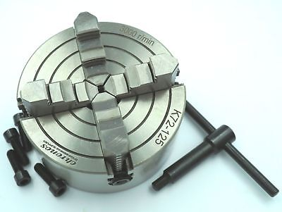 125mm 4 Jaw Independent Lathe  Chuck  (Ref: CH4125) From Chronos