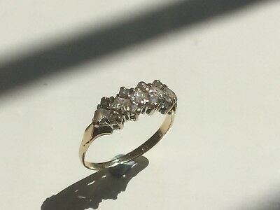 9ct Gold Dress Ring Size M