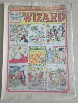 The Wizard Comic No. 1610 - 22nd Dec 1956