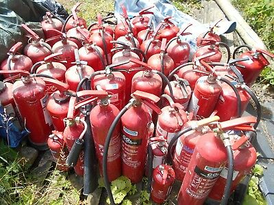 Job Lot of 50 Fire Extinguishers