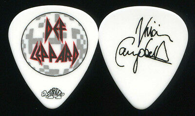 DEF LEPPARD 2011 Mirrorball Tour Guitar Pick!!! VIVIAN CAMPBELL concert stage
