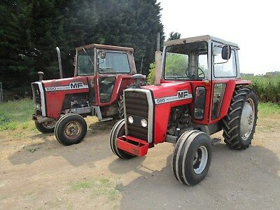 massey ferguson 565 and 590 very tidy 1 owner 590 ,genuine