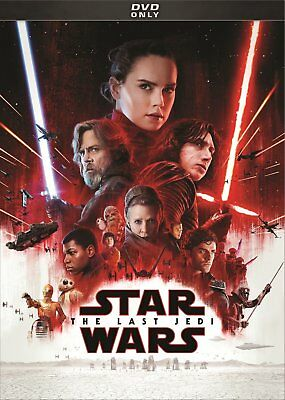 Star Wars: Episode VIII -The Last Jedi (DVD,2018) Free shipping