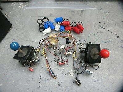 Wico Red and Blue Joysticks and some buttons  Working pulls