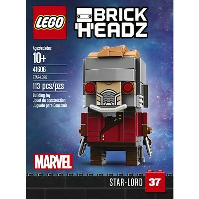 LEGO 41606 BRICKHEADZ 37 Marvel Star-Lord - NUOVO