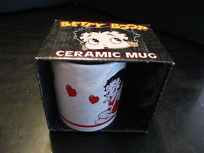 Betty Boop Coffee Mug 2007 Nj Croce In Box