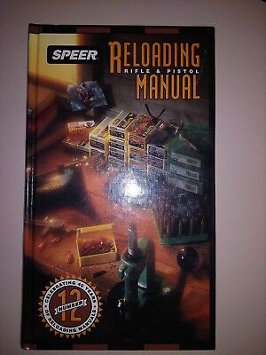 speer reloading manual number 12 for rifle and pistol 2 60 picclick rh picclick com speer reloading manual 14 download speer reloading manual 11