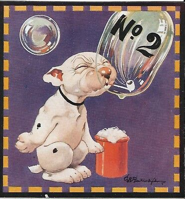 ART ORIGINAL COLOR 1922 Bonzo Studdy Dog COVER IMAGE