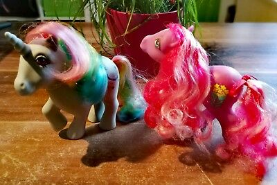 My little pony g1 - Caramel Crunch & Moonstone