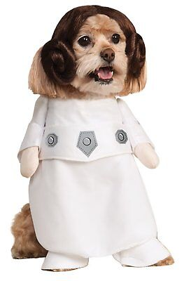 Rubie's Star Wars Collection Pet Costume, Princess Leia, Small