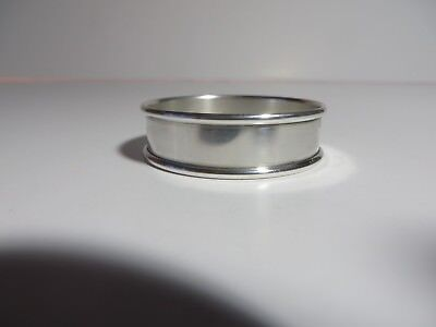 Gorham Sterling Silver Napkin Ring #6290 Monogramed Richard Peter