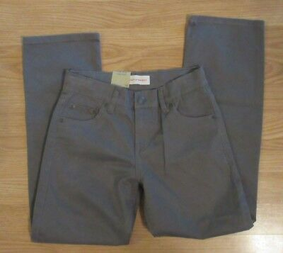Levi's Strauss & Co. Boys 514 Gray Pants Size 10 25x25 Stretch Straight Adjust