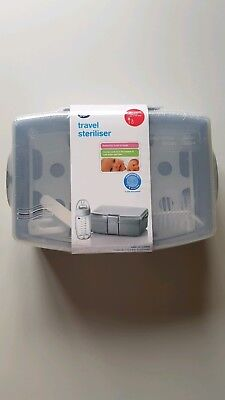 Boots baby bottle travel steriliser BNWT