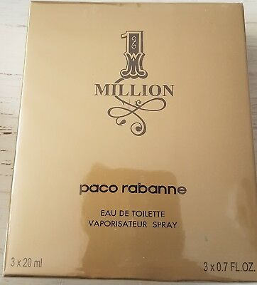 One Million von Paco Rabanne       3x20 ml