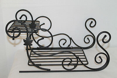 Longaberger Wrought Iron Sleigh For Baskets!