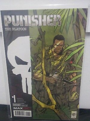 The Punisher: Platoon #1 (Marvel) High Grade!