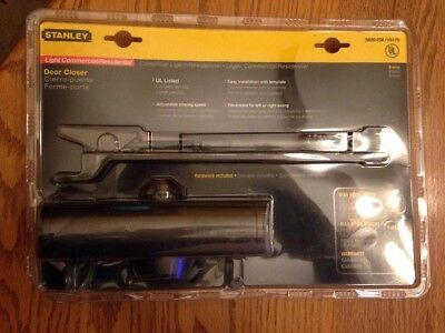 Stanley Door Closer Residential Ul Listed Bronze S820258/v8178. New