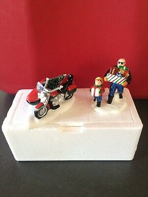 Department 56 Snow Village accessories 'A Harley-Davidson Holiday' #54898