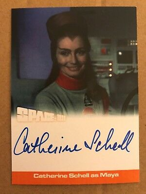 Space 1999 Series 2: Autograph Card: Catherine Schell As Maya Cs1