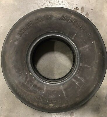 Michelin Aviator 021-350-0 8.50-10 160 mph 10-Ply TUBELESS Aircraft Tire