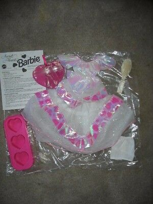 Secret Hearts Barbie 1992 #7302 outfit ONLY, mint complete