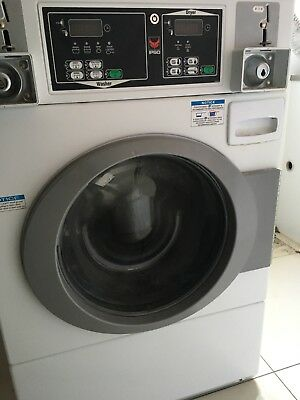 Coin operated washer dryer combo