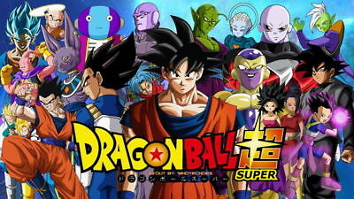 DRAGON BALL SUPER Complete Series (1-131 End)Eng Dub&Sub Japan Anime DVD Goku