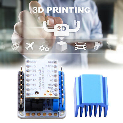 TMC2208 V1.0 Stepper Motor Driver + Tester Module With Stackable Headers TE946