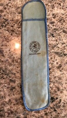 Bailey Banks and Biddle Sterling Silver Flatware Felt Pouch Only With Co Logo