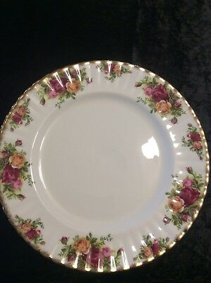 Royal Albert Old Country Roses Dinner Plates X 4 Excellent Condition