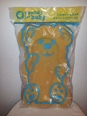 NEW Especially for Baby Comfy Bear Bath Cushion-Slip Resistant Sponge