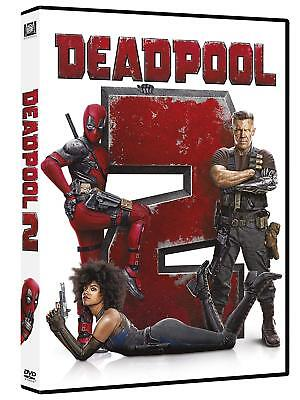 DEADPOOL 2 (DVD) SEQUEL DEL SUPEREROE MARVEL PIU' FOLLE con Ryan Reynolds