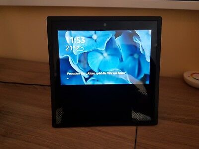 Amazon Echo Show Sprachgesteuerter Smart Assistant - Schwarz