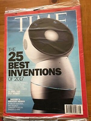 New Sealed TIME Magazine, 25 Best Inventions of 2017 Double Nov 27 Dec 4, 2017