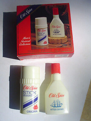 Vintage Old Spice Captains Nautical Collection. New in box.