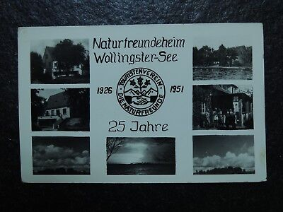 Alte AK , Naturfreundeheim Wollingster See 1926 - 1951 , Wollingst , Bremerhaven