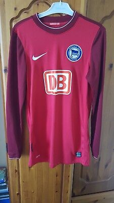 Hertha Berlin Nike Long Sleeved Small Top