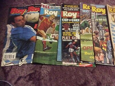 6 Roy of the Rovers comics