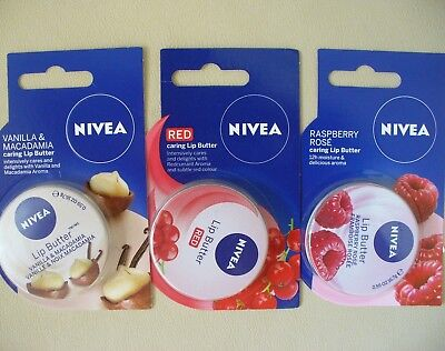 NIVEA LIP BUTTER 0.59oz/ 16.7g - Made in GERMANY