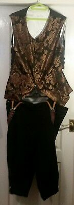 Fantastic Theatrical Style 17th/18thC mans Costume Steam Punk Fancy Dress