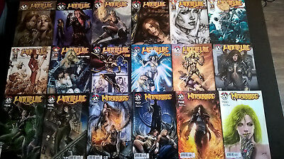 Witchblade #102-152, +annual #1-2, + Due Process #1
