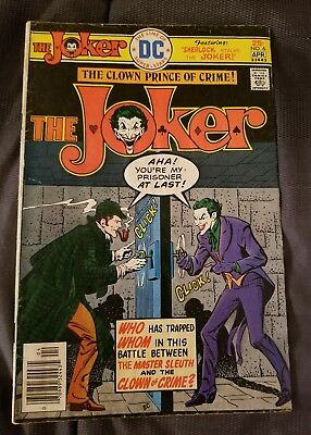 Dc Comics The Joker #6 Apr 1976 Very Good Condition Comic Book