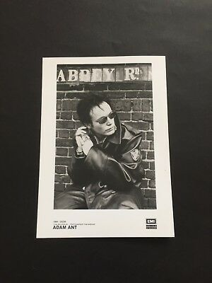 Adam Ant Promotional Photograph