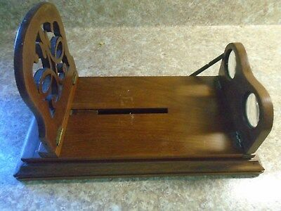 Vintage Walnut Stereo Viewer, Immaculate Shape